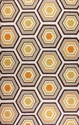 Rugs USA Homespun Honeycomb Light Blue Rug Light Blue Rug. Home decor, interior design, style, create, blue, trellis, modern, home, house, interiors.