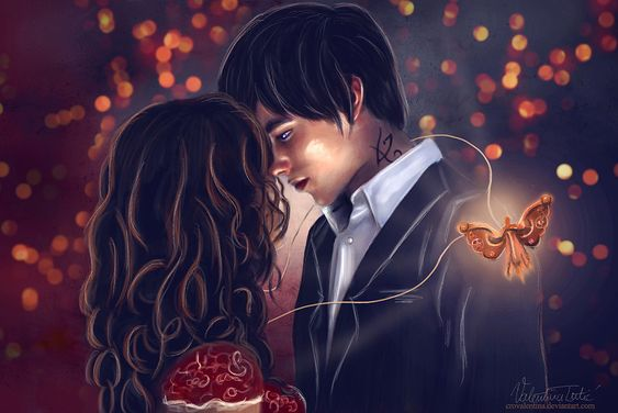 Tessa and Will by CROvalentina.deviantart.com on @deviantART BECAUSE I <3 WESSA SO FUCKING MUCH ;___;: