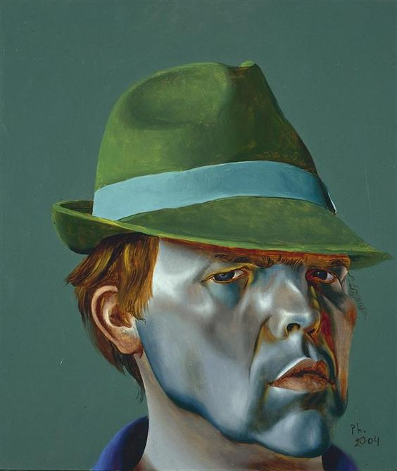 Philip Akkerman - Self-portrait 2004 no.55