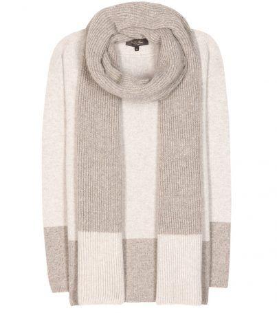 Pullover Aus Cashmere Mit Schal