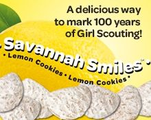 Recipes for that include girl scout cookies!
