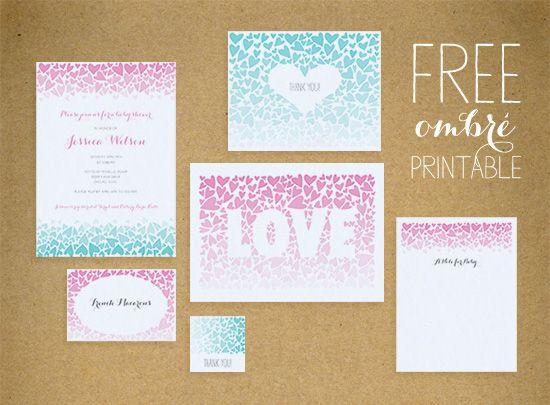 Free Birthday Stationary ~ Nice the free printable birthday invitation templates invitations