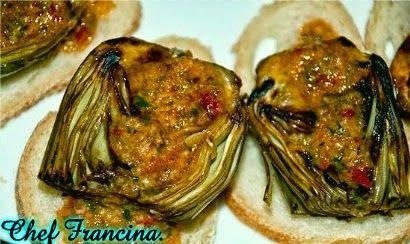 Cocinar es fácil con Chef Francina: Alcachofas con salsa romesco.