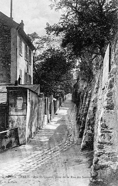 Rue Saint Vincent Paris 18ème. #Webcards chine pour vous. Des photos de Paris…