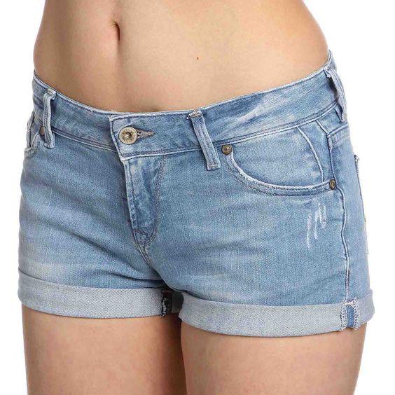 Roxy   ROSIE DENIM Hotpants Damen   bei http://mysportworld.de/roxy-rosie-denim-hotpants-damen-tahiti-blue.html