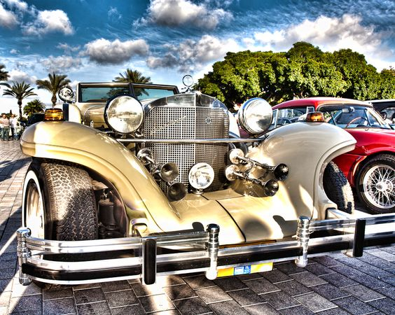 nice #hdr #photograph of some vintage cars by ariknitsan