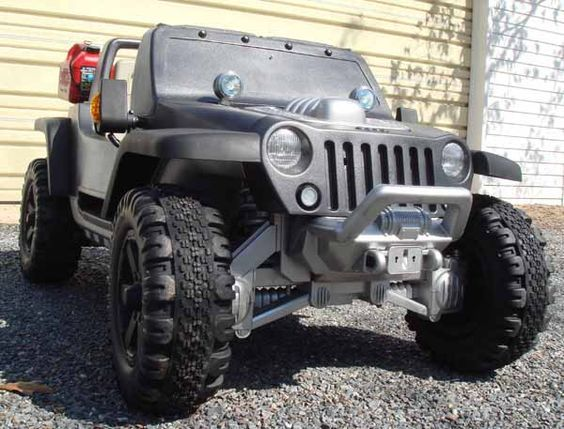 Modified Power Wheels Jeep Hurricane Mods Pics Power Wheels