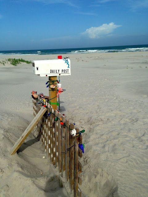 The Mailbox On Topsail Beach Topsail Beach Topsail Beach