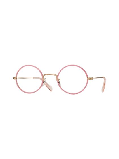 paul smith - pink glasses.