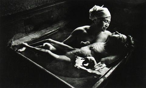 Tomoko Uemura in her bath, Minamata, Japan by W. Eugene Smith ...
