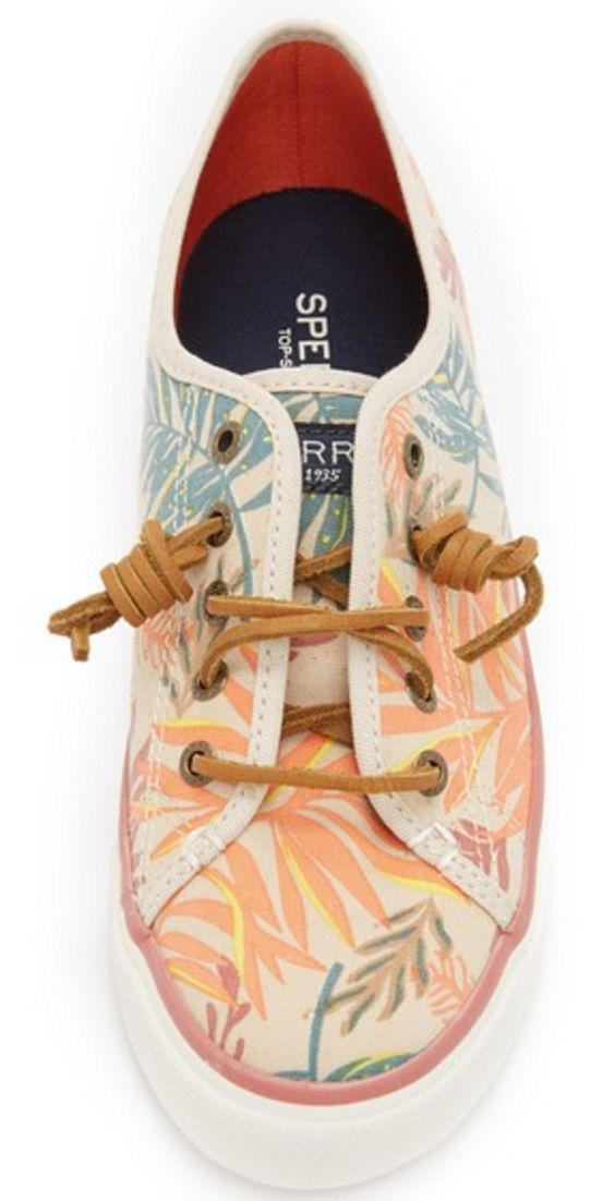 Sperry Tropical Print Sneakers