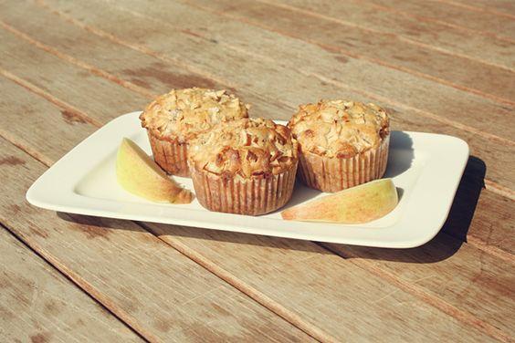Apfel-Kirsch-Muffins *