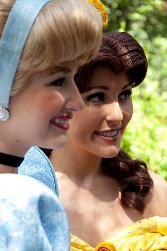 Cinderella and Belle