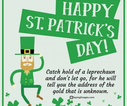 St Patrick S Day Quotes On Celebrations Good Luck And Irish Beer Sayingimages Com In 2020 St Patricks Day Quotes Good Luck Quotes Patrick Quotes