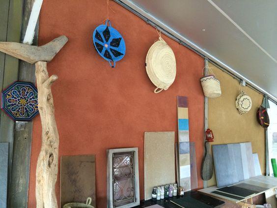Atelier leem Marokko