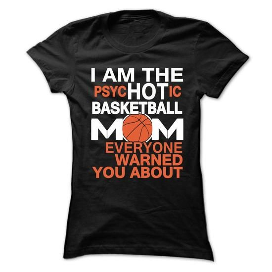 Im the psychic hot basketball mom - #tee spring #tee skirt. GET YOURS  => https://www.sunfrog.com/Sports/I-AM-THE-HOT-BASKETBALL-MOM-Ladies.html?id=60505