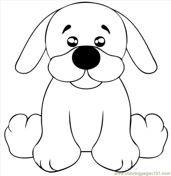 dog coloring pages | ... printable coloring page Draw A ...