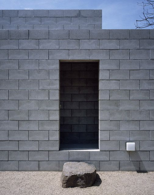 Gallery Of Concrete Blocks In Architecture How To Build With This Modular And Low Cost Material 4 Silent House Concrete Blocks Minimal House Design