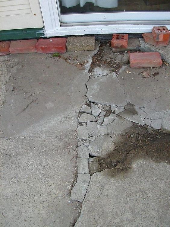 Pinterest the world s catalog of ideas for Crumbling concrete floor