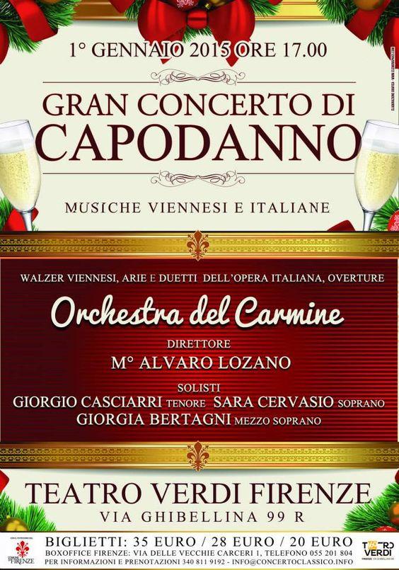 Gran Concerto di Capodanno, Teatro Verdi, 1/1/2015,