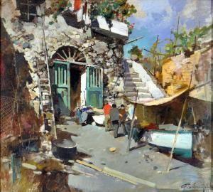 Google and search on pinterest for Paesaggi marini dipinti