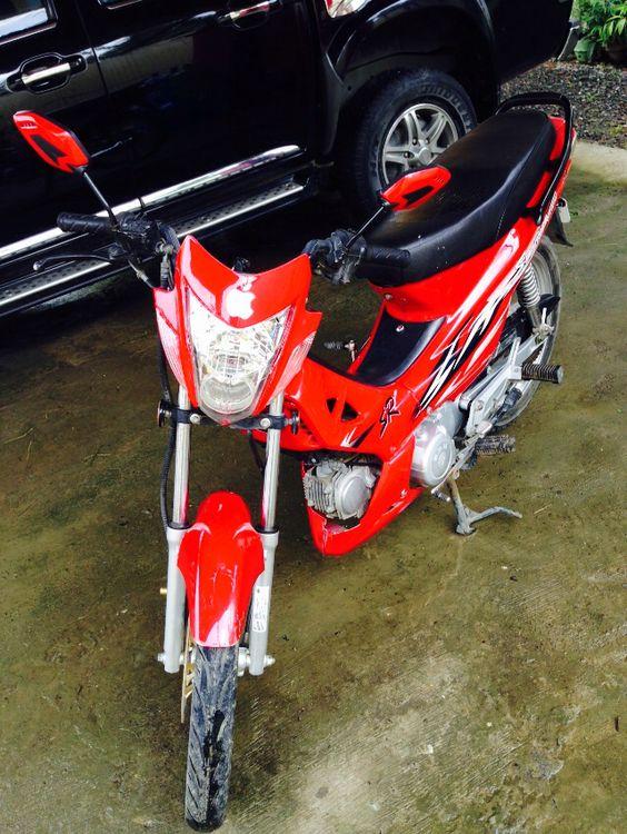 My first motorbike.. :)