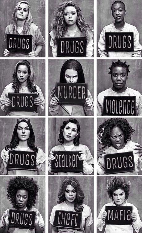 #Serienjunkie #OrangeIsTheNewBlack #Gefängnis #Frauenknast #hinterGittern