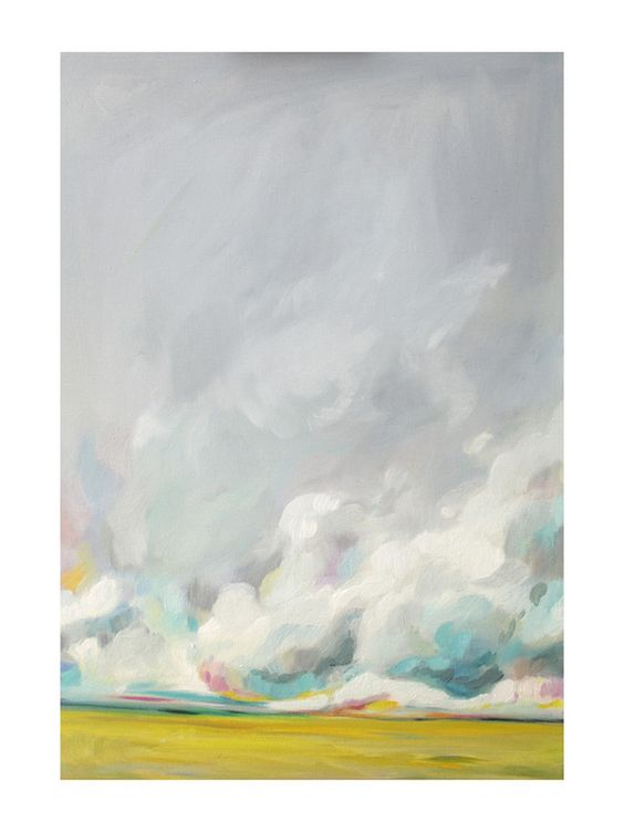 "Mid-summertime Limited Edition Art Print by Emily Jeffords | Minted 30"" x 40"" $325.:"