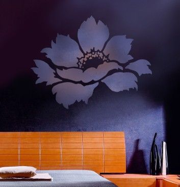 Flower Stencil Tree Peony size Med  by CuttingEdgeStencils on Etsy, $24.95