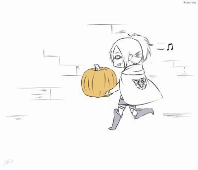 Survey Corp's Halloween. It's so cute!
