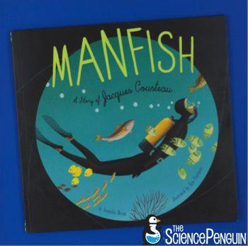 Manfish-- literary nonfiction about Jacques Cousteau
