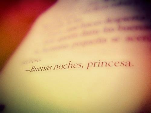 Buenas noches, princesa. | Citas, frases, palabras ...