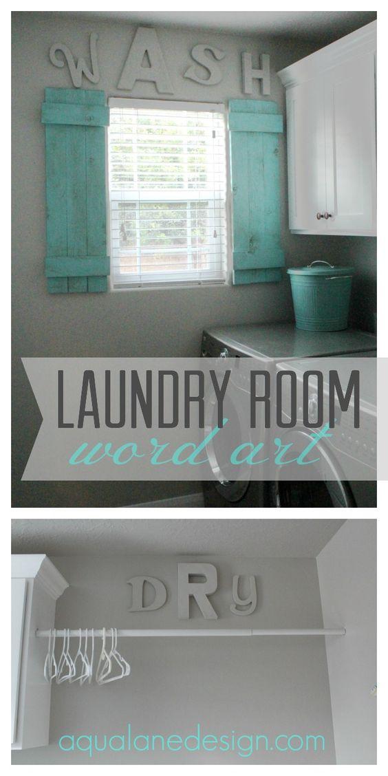 Dizzy Bright Laundry Room