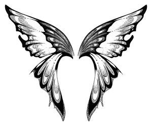Wings Tattoo Designs For Girls   ONLINE TATTOO DESIGNES: image design wings butterfly tattoo by ...