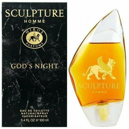 Nikos Sculpture God S Night Eau De Toilette Hommes Neuf 100ml Eau De Toilette Sculpture Ebay