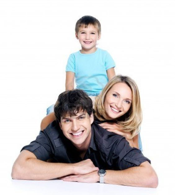 Young happy family with child posing on white background picture ideas pinterest happy - Houses for families withchild ...