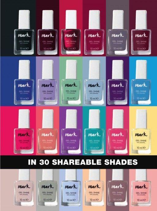 Mark Gel Shine Nail Polish In 2020 Avon Mark Avon Nails Avon Lipstick