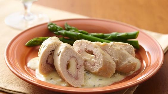 Cordon Bleu Chicken Rolls