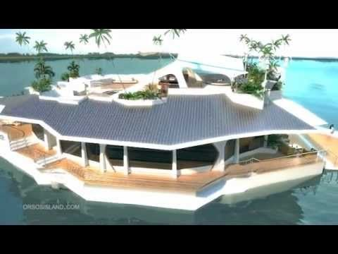 ORSOS Floating Island Offers 'Mobility Of Yacht' With 'Comfort Of Mainland Home' (VIDEO)