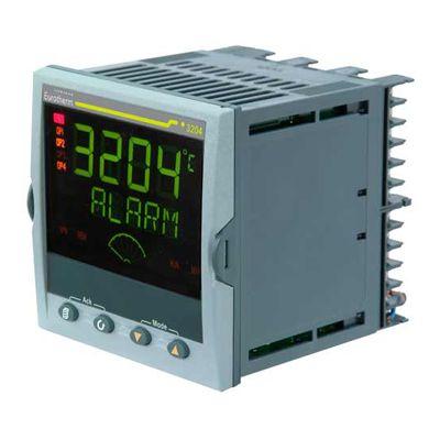 Controlador 3204 - Programador de 8 segmentos - Detección de averías en calefactores - Temporizador interno - Mensajes de texto dinámico - Recetas - Comunicaciones Modbus - Retransmisión de puntos de consigna a través de Modbus - Retransmisión analógica - Punto de consigna remoto - Texto de ayuda