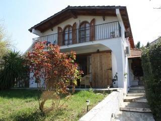 Hausansicht, Ferienhaus CHALKOUTSI in Chalkoutsi im Gebiet Attika in Griechenland.