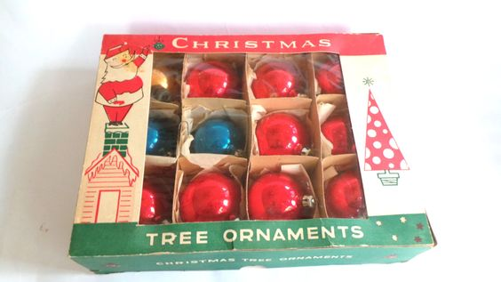 Boxes For Christmas Ornaments