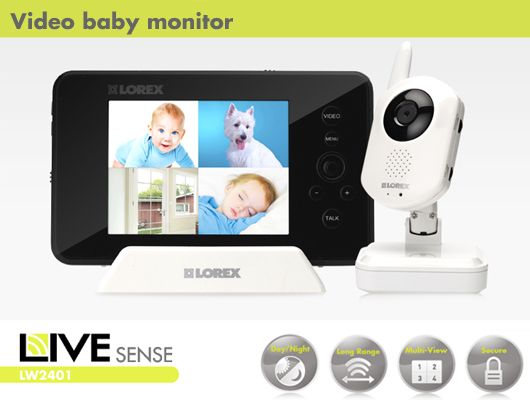 super cool...a video baby monitor