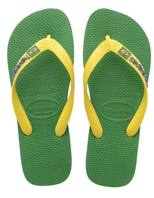 buy sale latest discount best website Havaianas Brasil Logo Green Flip Flop Price From: £13.68 | Mens ...