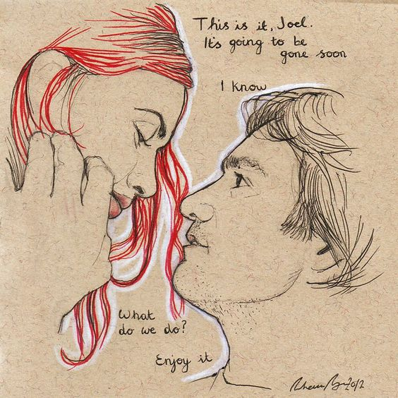 Eternal Sunshine of the Spotless Mind original drawing for ...