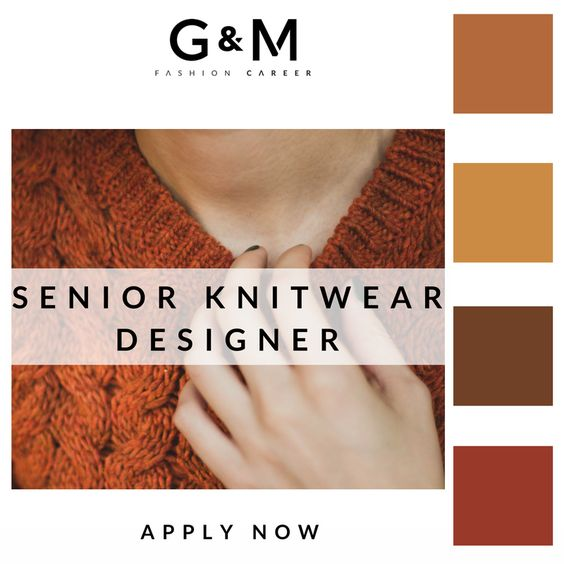 All You Knit Is love… Want a new and exciting #job designing ...