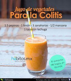 jugo de vegetales para la colitis,con receta