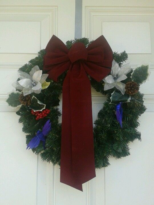 This years new wreath! Deisgned by me!