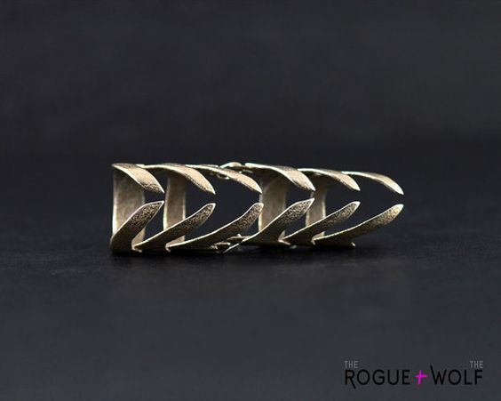 The Sleepwalk ring in steel An impressive by TheRogueAndTheWolf