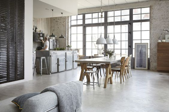 UN LOFT DE ESTILO INDUSTRIAL ROMÁNTICO | Decorar tu casa es facilisimo.com